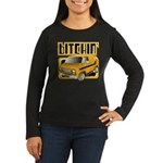 70s Retro Chevy Van Women's Long Sleeve Dark T-Shi