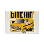 70s Retro Chevy Van Rectangle Magnet (100 pack)