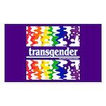 transgender Rectangle Sticker
