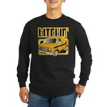 70s Retro Chevy Van Long Sleeve Dark T-Shirt