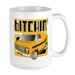 70s Retro Chevy Van Large Mug