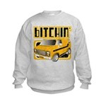 70s Retro Chevy Van Kids Sweatshirt