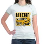 70s Retro Chevy Van Jr. Ringer T-Shirt