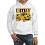 70s Retro Chevy Van Hooded Sweatshirt