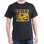 70s Retro Chevy Van Dark T-Shirt