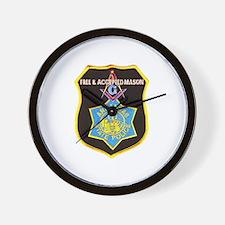 Arkansas Police Mason Wall Clock