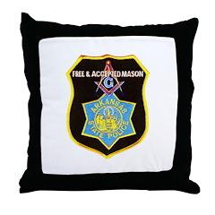 Arkansas Police Mason Throw Pillow