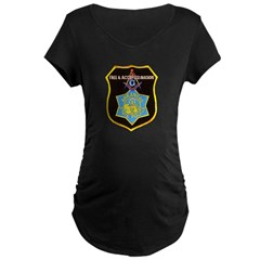 Arkansas Police Mason Maternity Dark T-Shirt