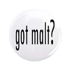 """got malt? 3.5"""" Button (100 pack)"""
