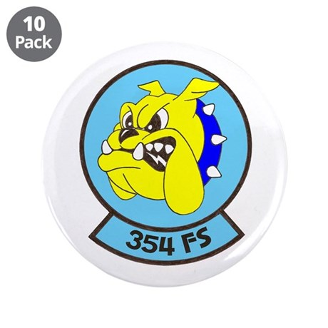 """354 UNIT PATCH 3.5"""" Button (10 pack)"""