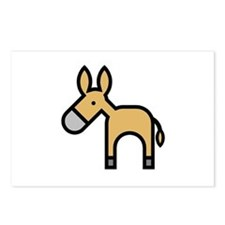 Donkeys and Mules Postcards (Package of 8)