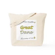 Dane Breathe Yellow Tote Bag