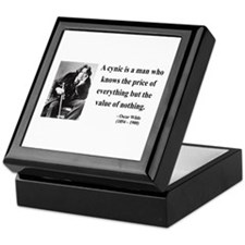 Oscar Wilde 1 Keepsake Box
