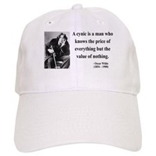 Oscar Wilde 1 Baseball Cap