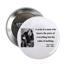 "Oscar Wilde 1 2.25"" Button"