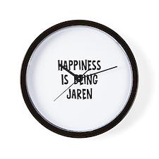 Happiness is being Jaren Wall Clock