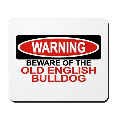 OLD ENGLISH BULLDOG Mousepad