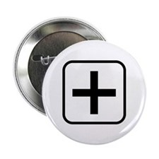"Plus 2.25"" Button (10 pack)"