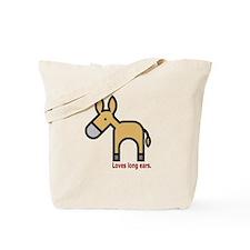 Loves Long Ears Tote Bag