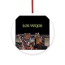 Las Vegas Strip Ornament (Round)