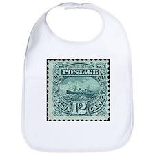 Unique Stamp collecting Bib
