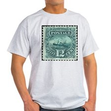 Stamp-Collecting-Classic_A39 T-Shirt