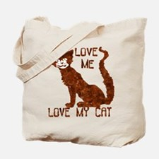Love Me Love My Cat -  Tote Bag