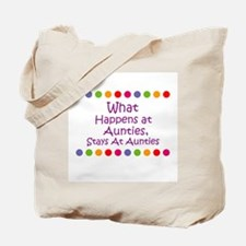 What Happens at  Aunties, Sta Tote Bag