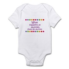 What Happens at  Aunties, Sta Infant Bodysuit