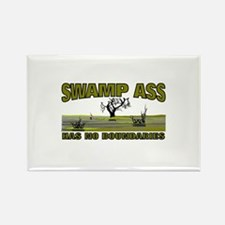 SWAMP ASS (HAS NO BOUNDARIES) Rectangle Magnet