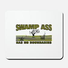 SWAMP ASS (HAS NO BOUNDARIES) Mousepad