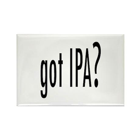 got IPA? Rectangle Magnet