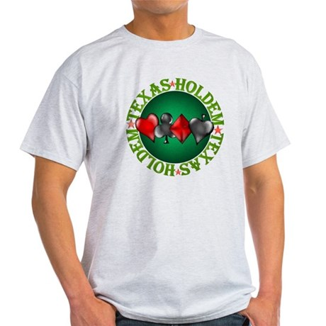 Texas Holdem 4 Light T-Shirt
