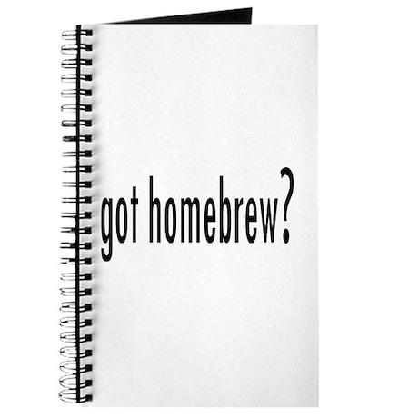 got homebrew? Journal