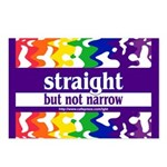 straight but not narrow Postcards (Package of 8)