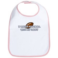 Dallas Football Daddy Bib