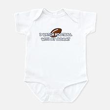 Dallas Football Mommy Infant Bodysuit