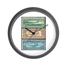 Cool Stamps Wall Clock