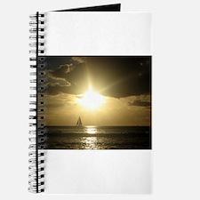 Cute Hawaii sunset Journal