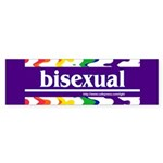 bisexual Bumper Sticker