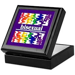 bisexual Keepsake Box