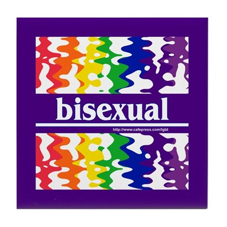 bisexual Tile Coaster