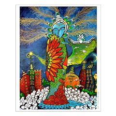 Marcy Hall's Bird Goddess Posters