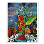 Marcy Hall's Bird Goddess Small Poster
