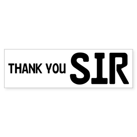 how to say thank you sir in spanish