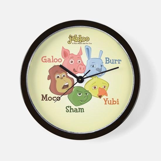 Jabloo Crew Wall Clock