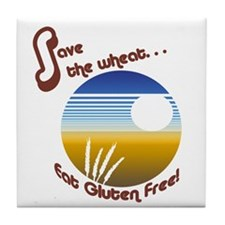 Save the Wheat Tile Coaster