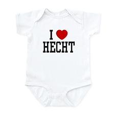 I <3 Hecht Infant Bodysuit