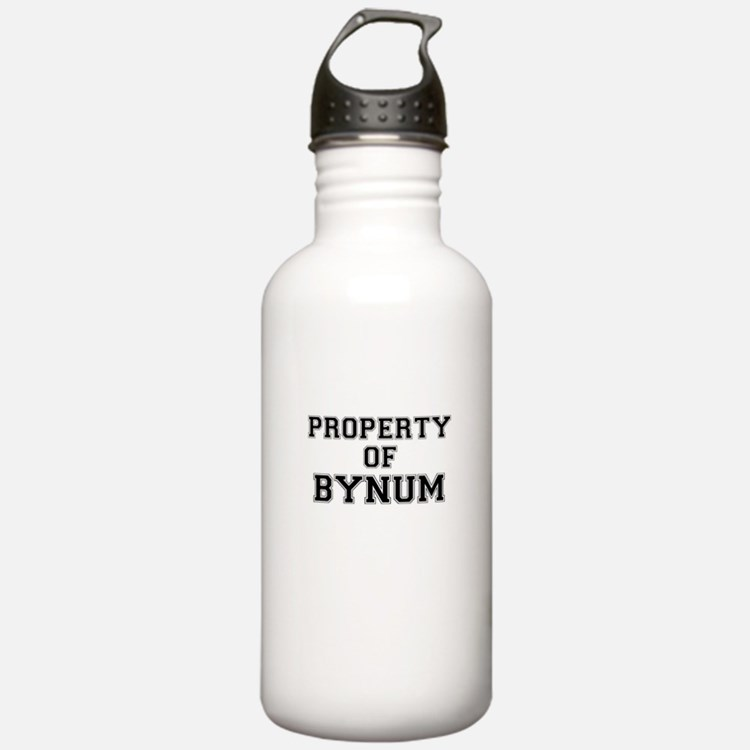 Property of BYNUM Water Bottle