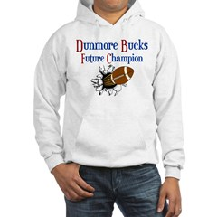 Dunmore Bucks Football Champions Hooded Sweatshirt
